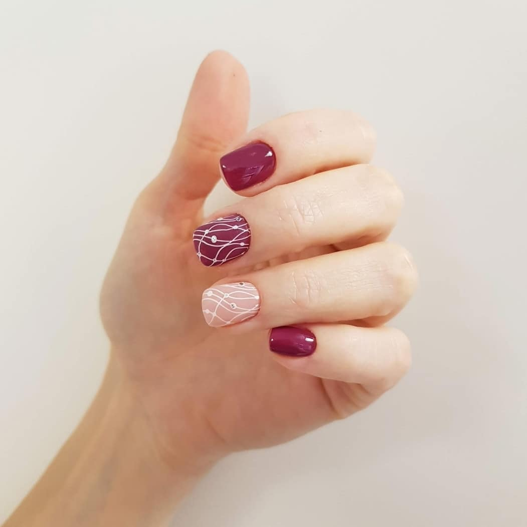 рисунки на коротких ногтях фото_12