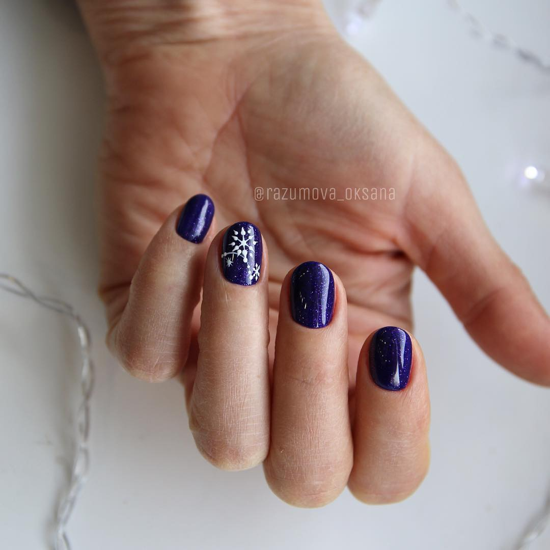 рисунки на коротких ногтях фото_39