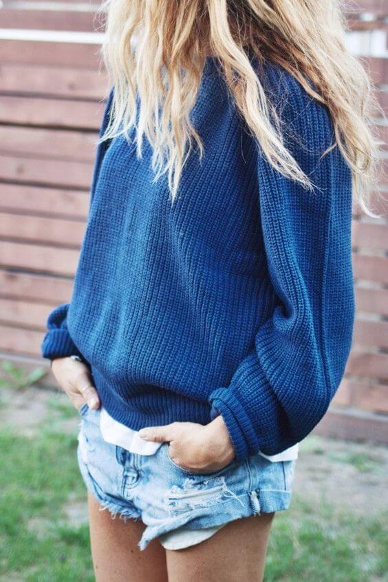 яркий свитер с чем носить фото 17
