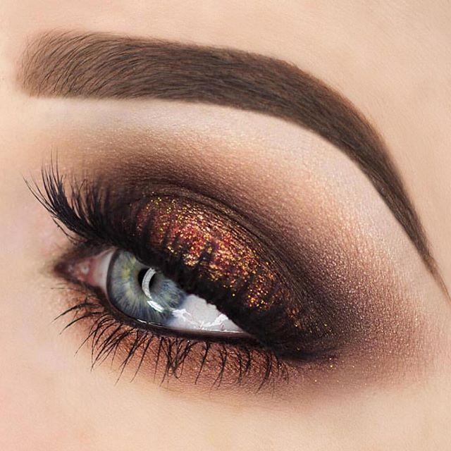 макияж в картинках коричневые тени только недавно звезда