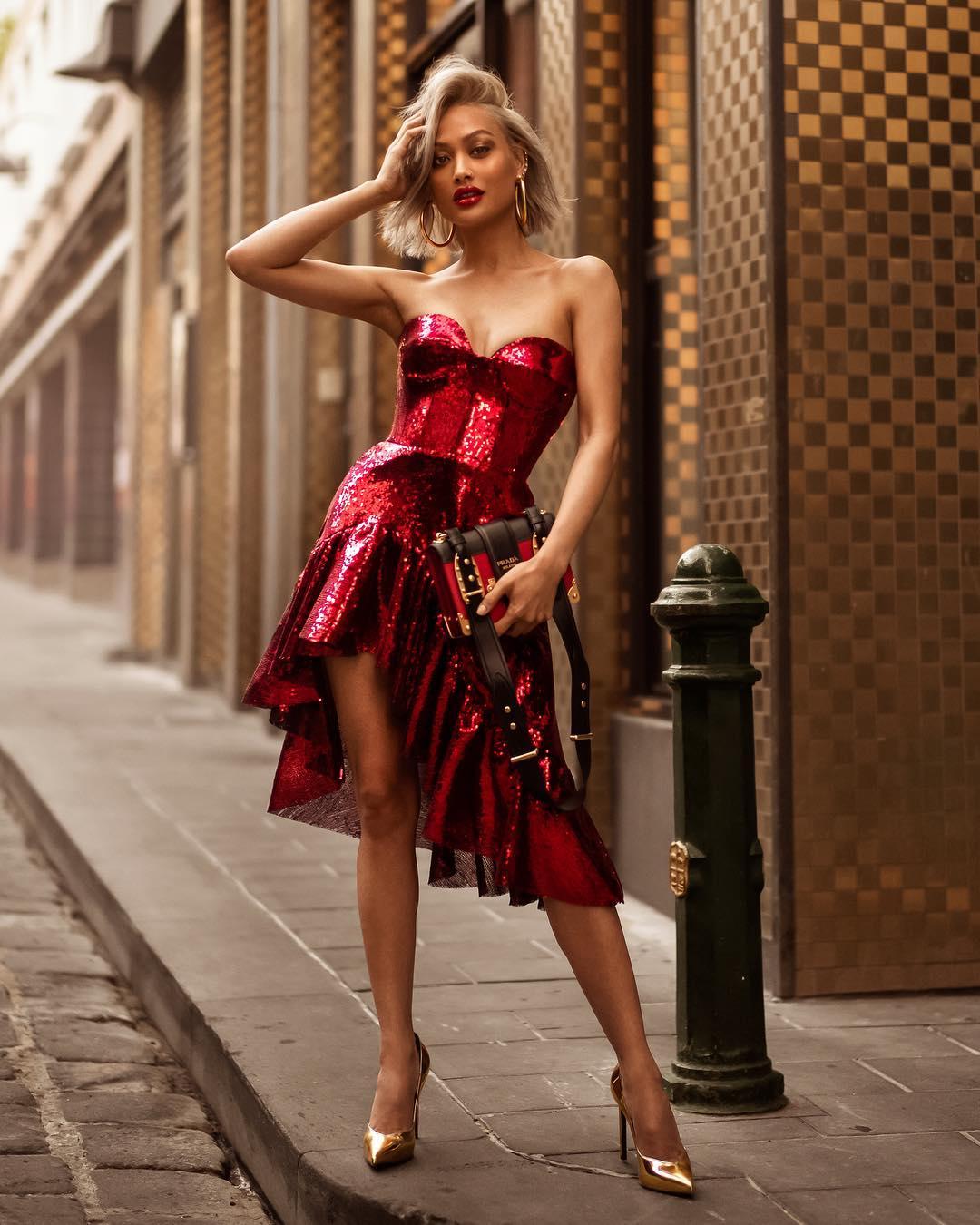 Асимметричная юбка фото 7