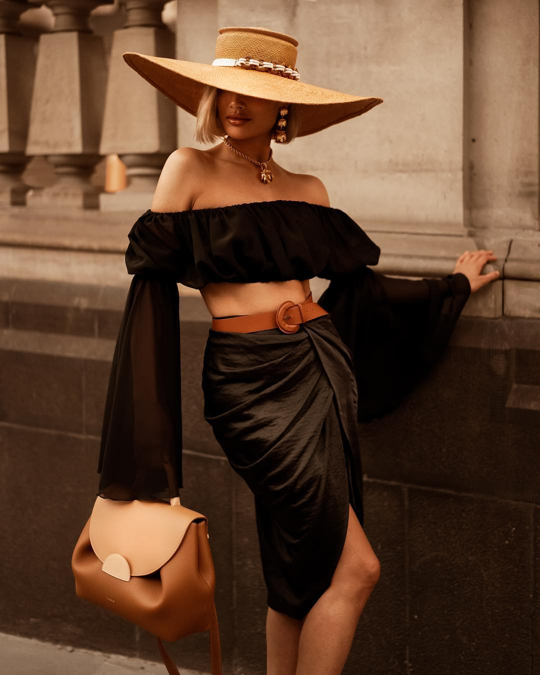 Асимметричная юбка фото 1