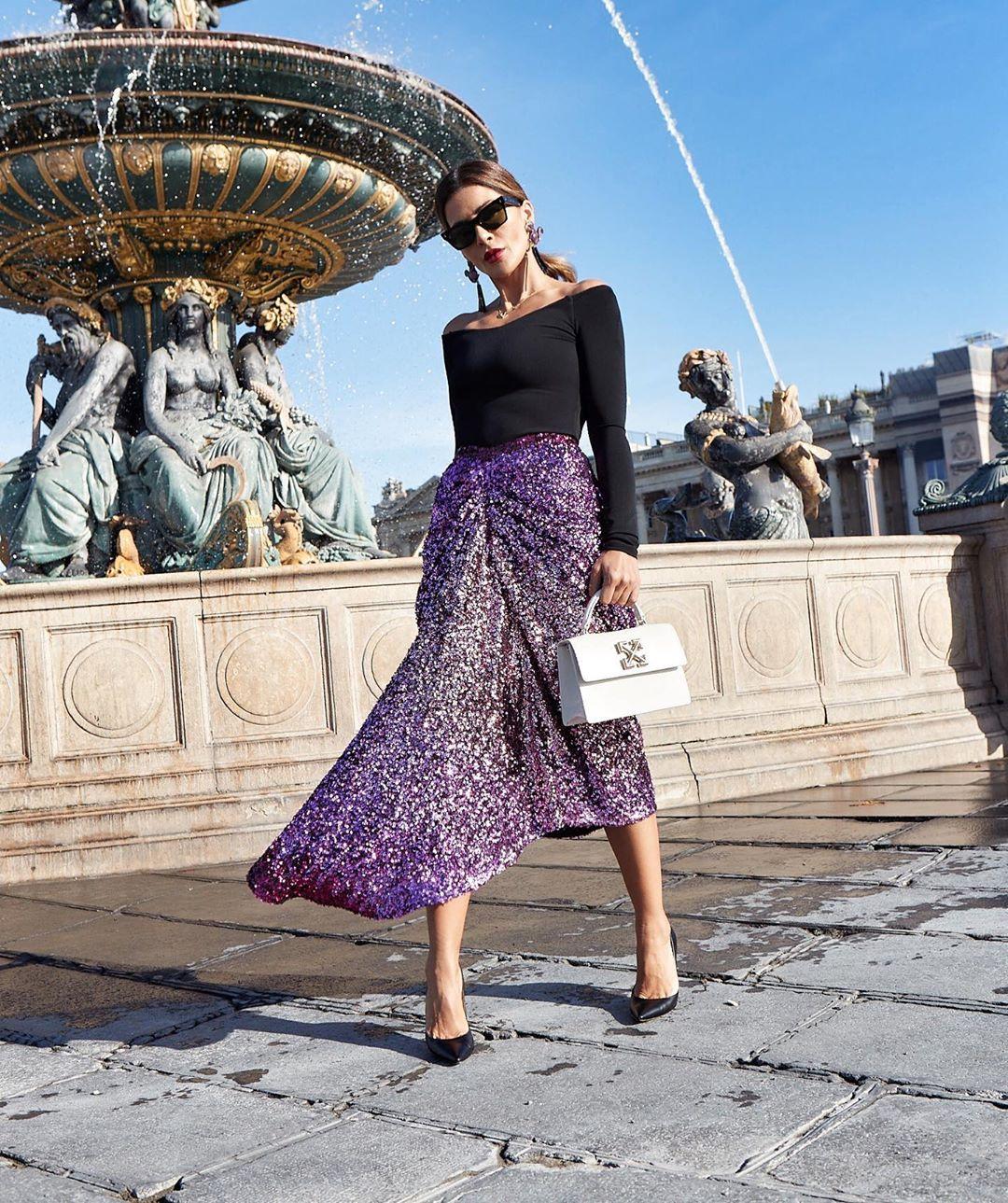 Асимметричная юбка фото 12