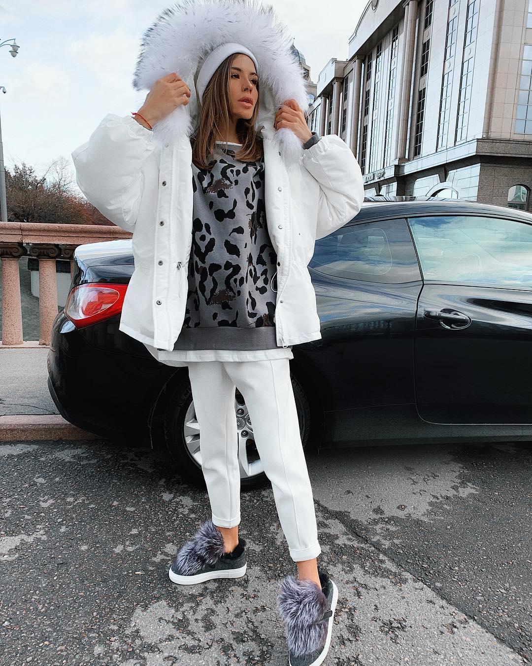 Уличный стиль (street style) зимы 2019 фото 13