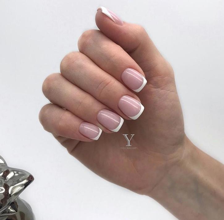 маникюр на короткие ногти 2019 фото 26