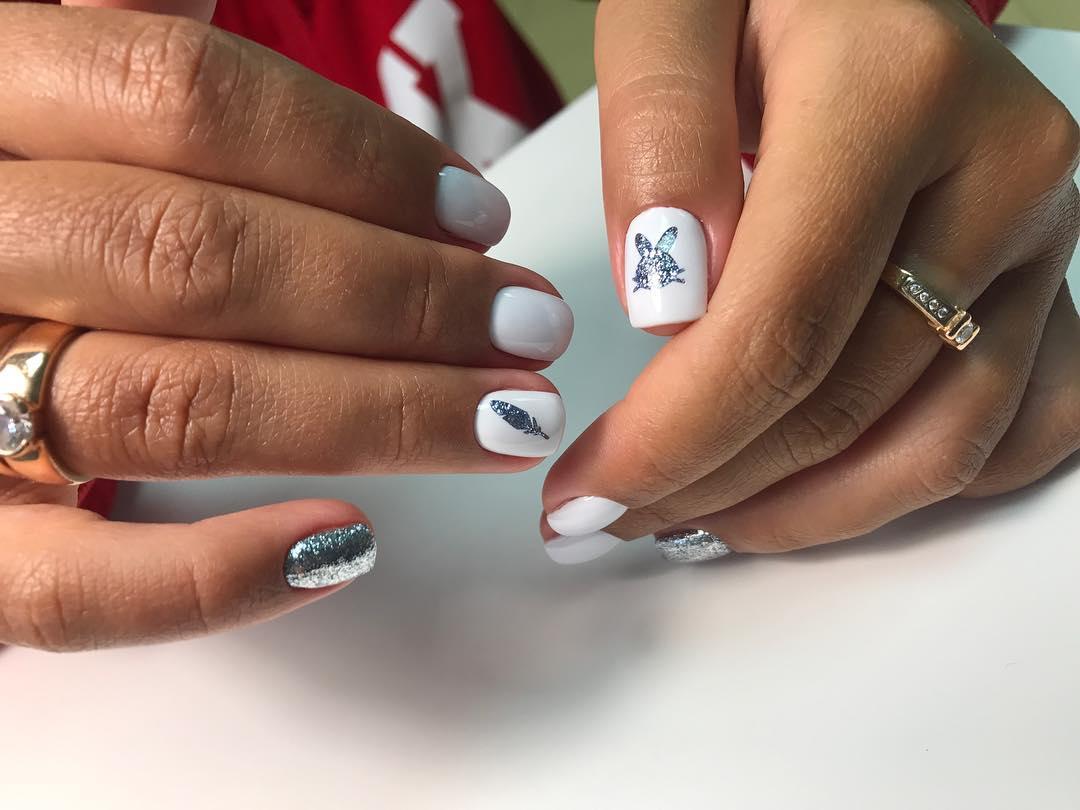 Дизайн ногтей на короткие ногти 2019-2020: 20 самых изящных идей