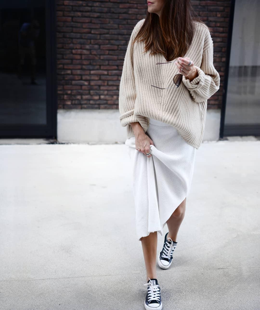Как и с чем носить обувь без каблуков, чтобы выглядеть стильно весной 2019: 15 трендовых идей