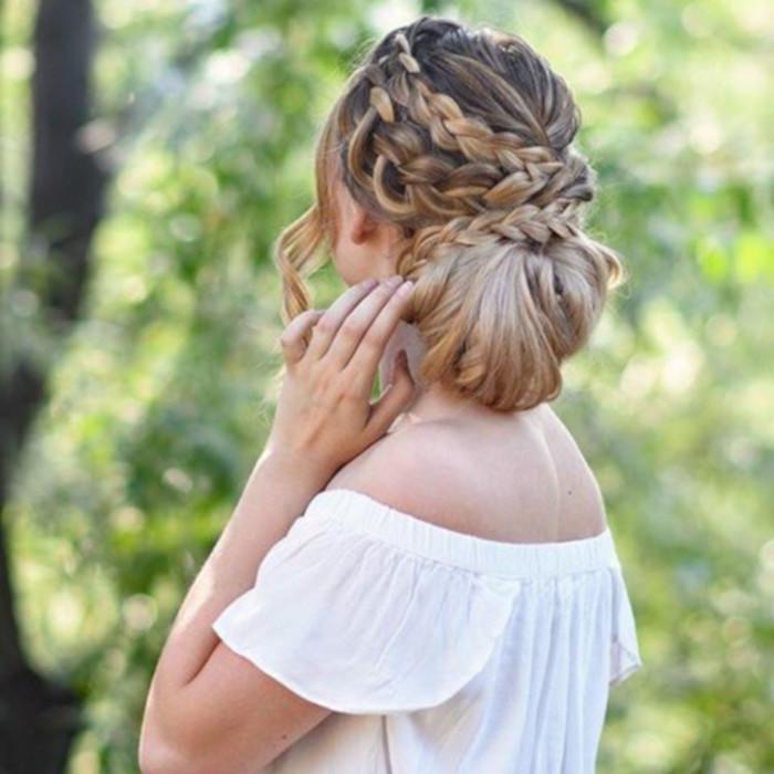 прически для длинных волос фото 20