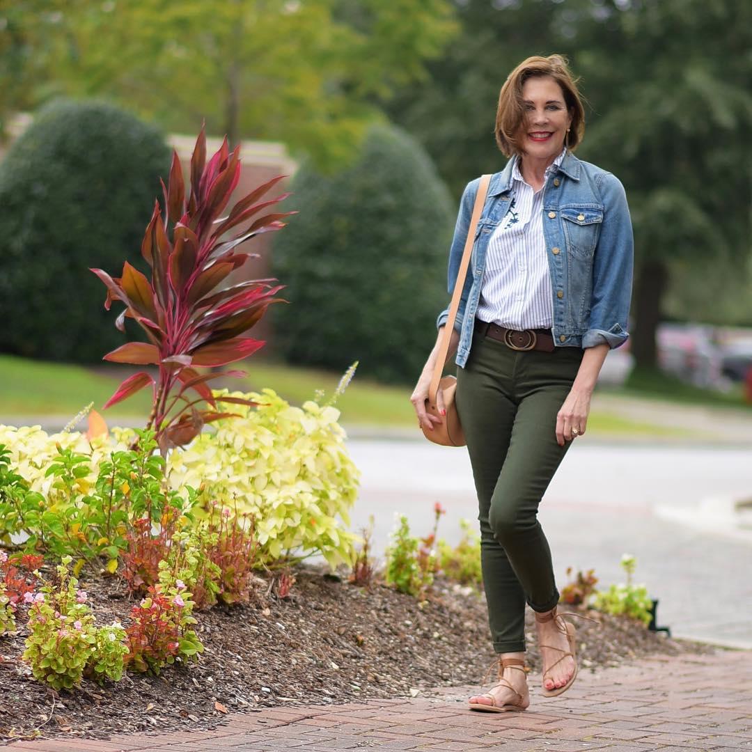 джинсовка в 40 лет фото 8