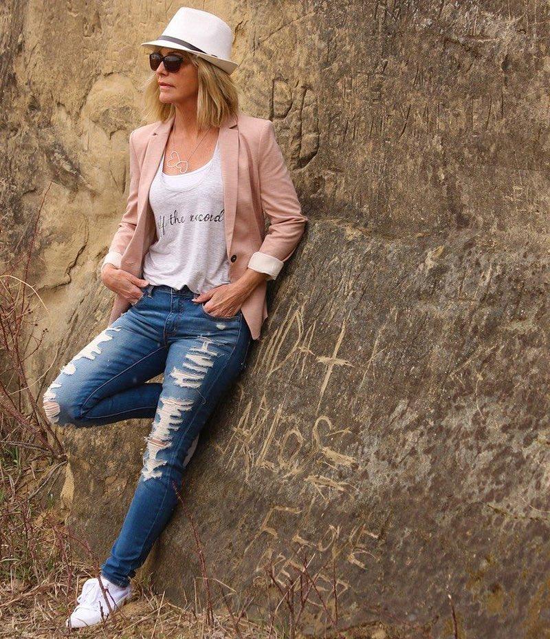 джинсовые вещи в 50 лет фото 15