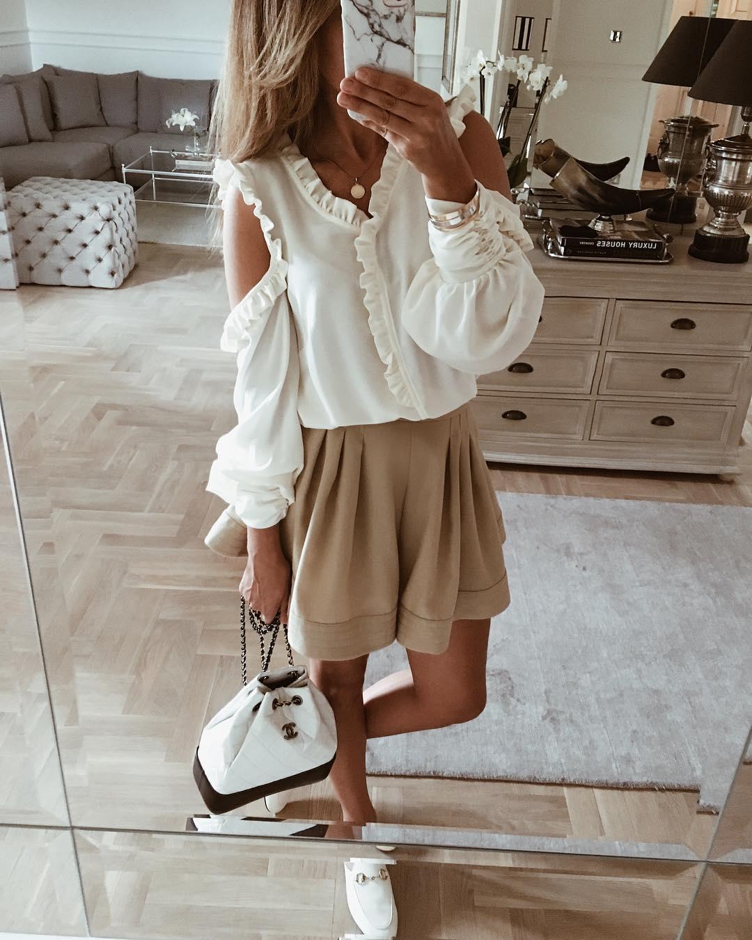 Модные блузки 2019 фото 7
