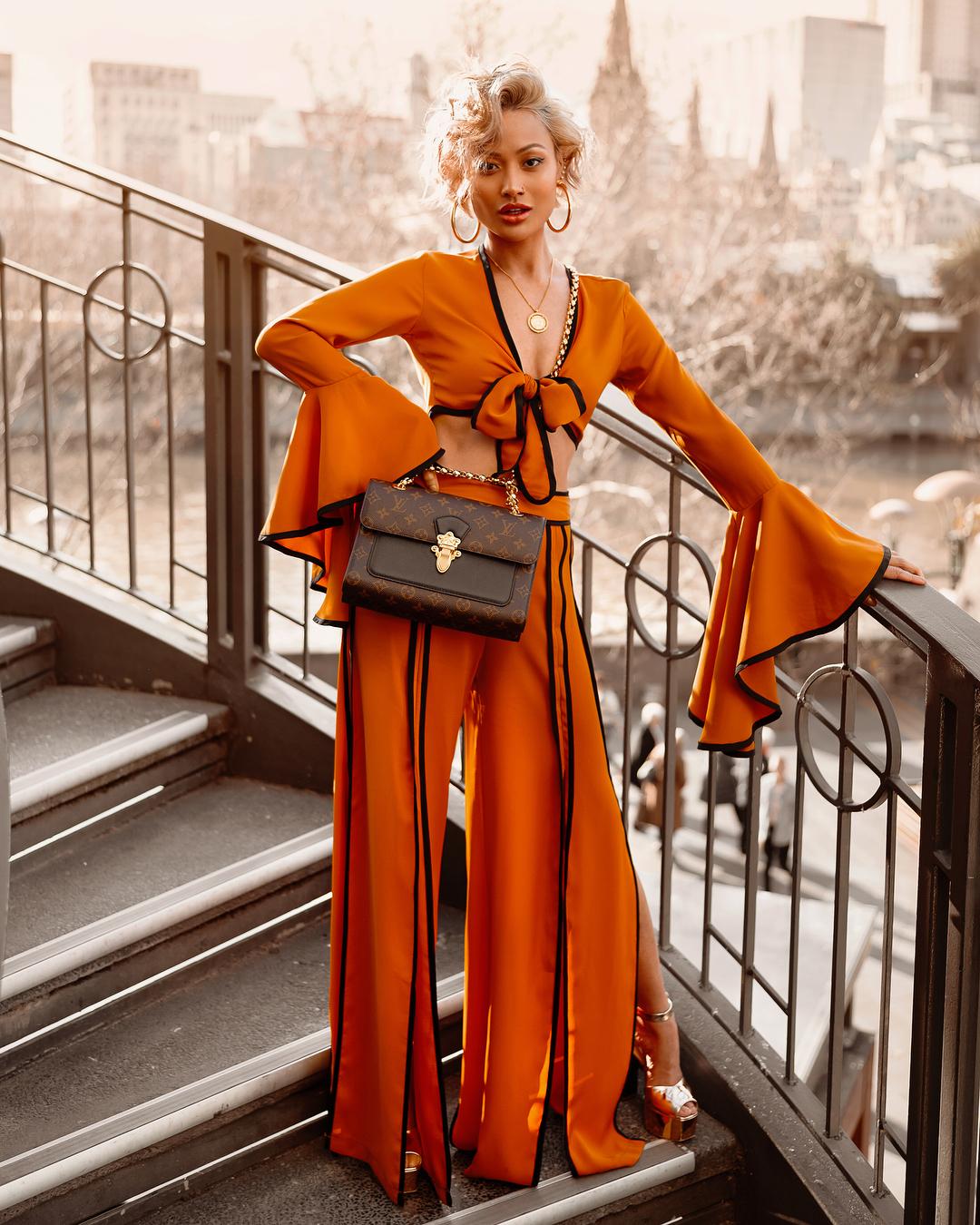 оранжевый цвет фото 7