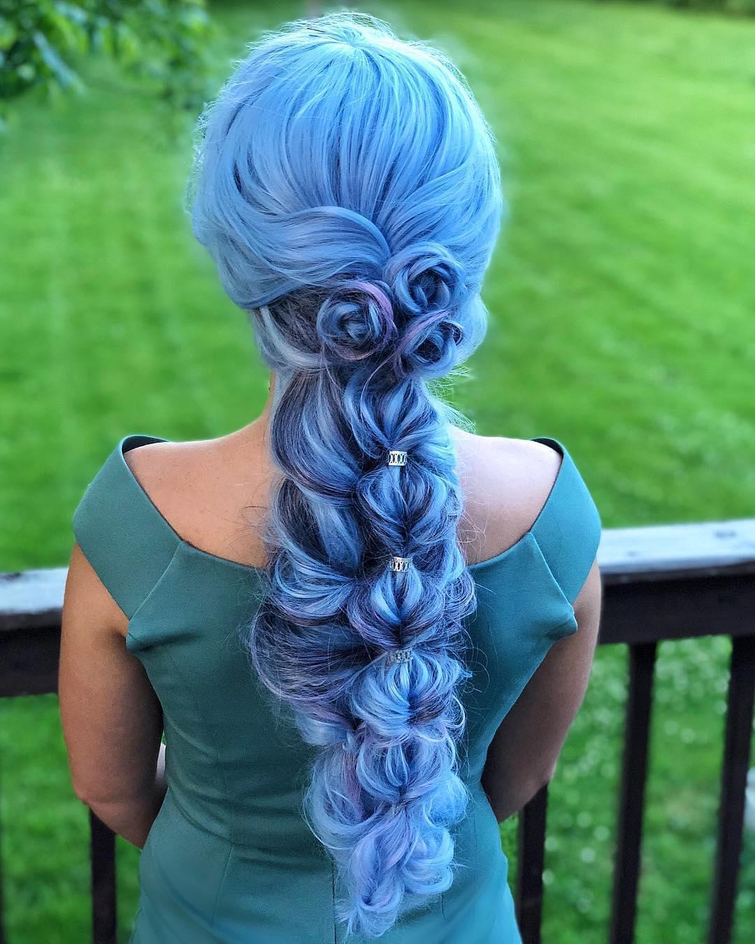 прически для длинных волос фото 21