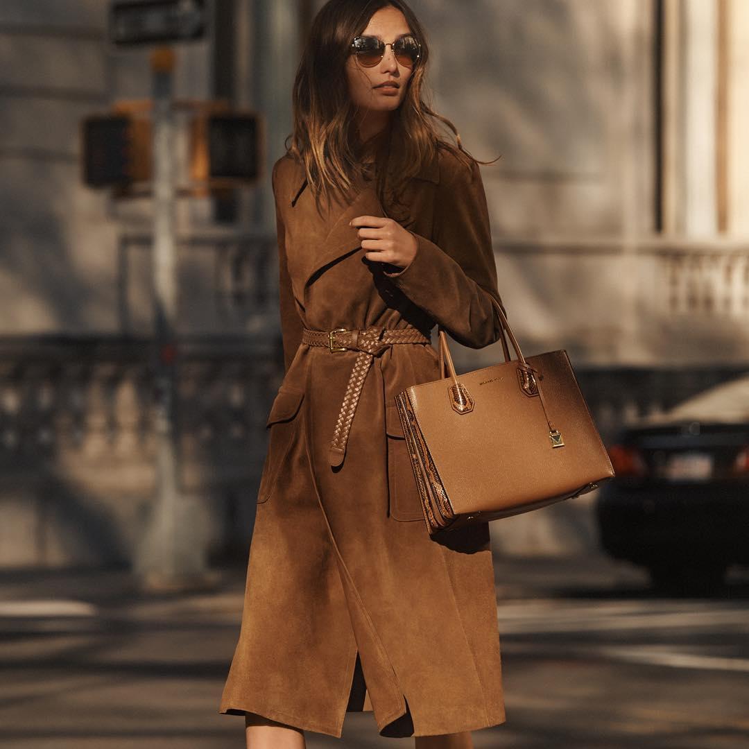 коричневая сумка фото 12