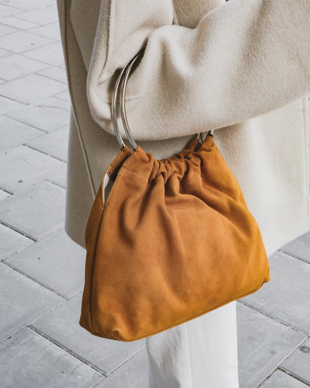 коричневая сумка фото 2