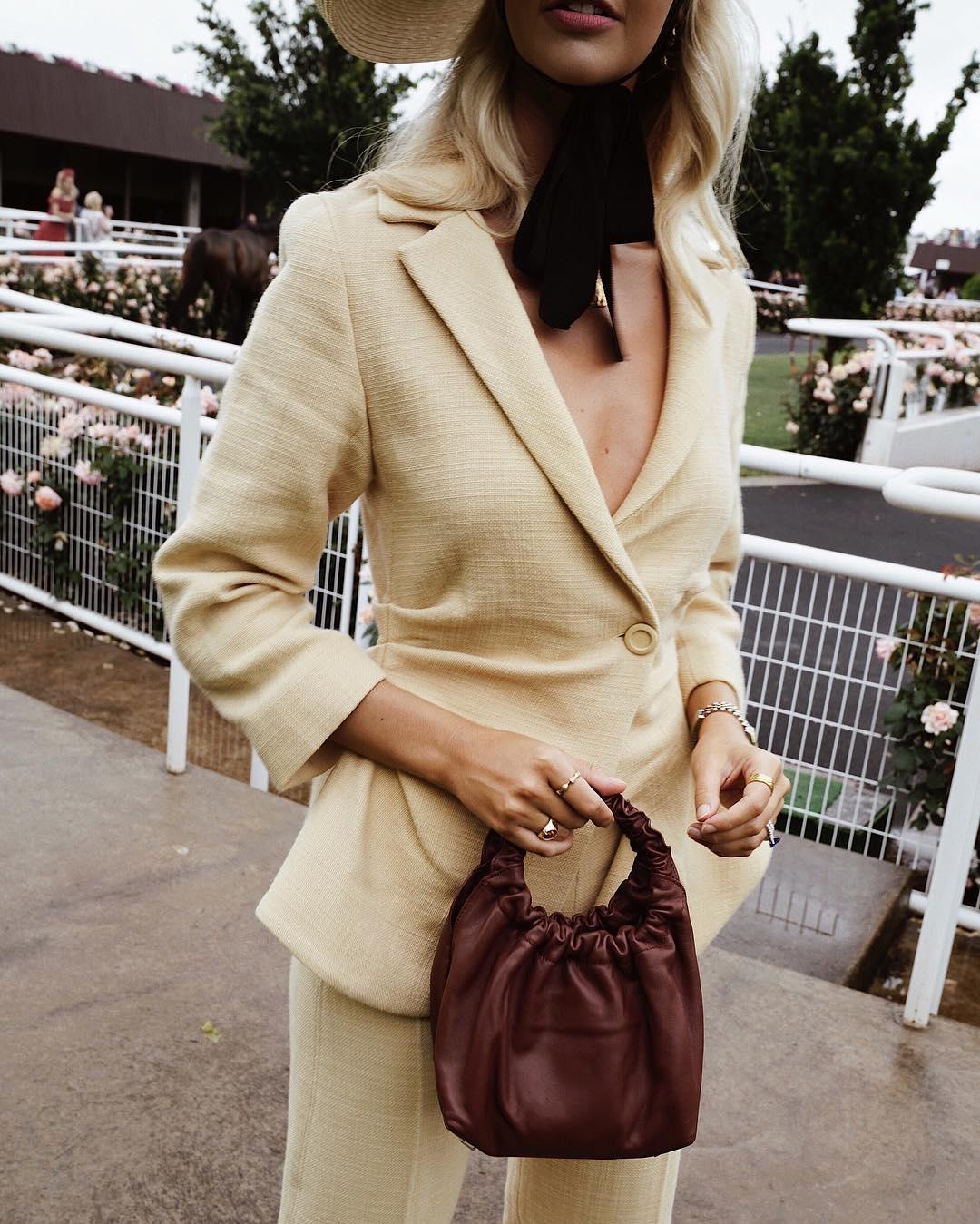 коричневая сумка фото 5