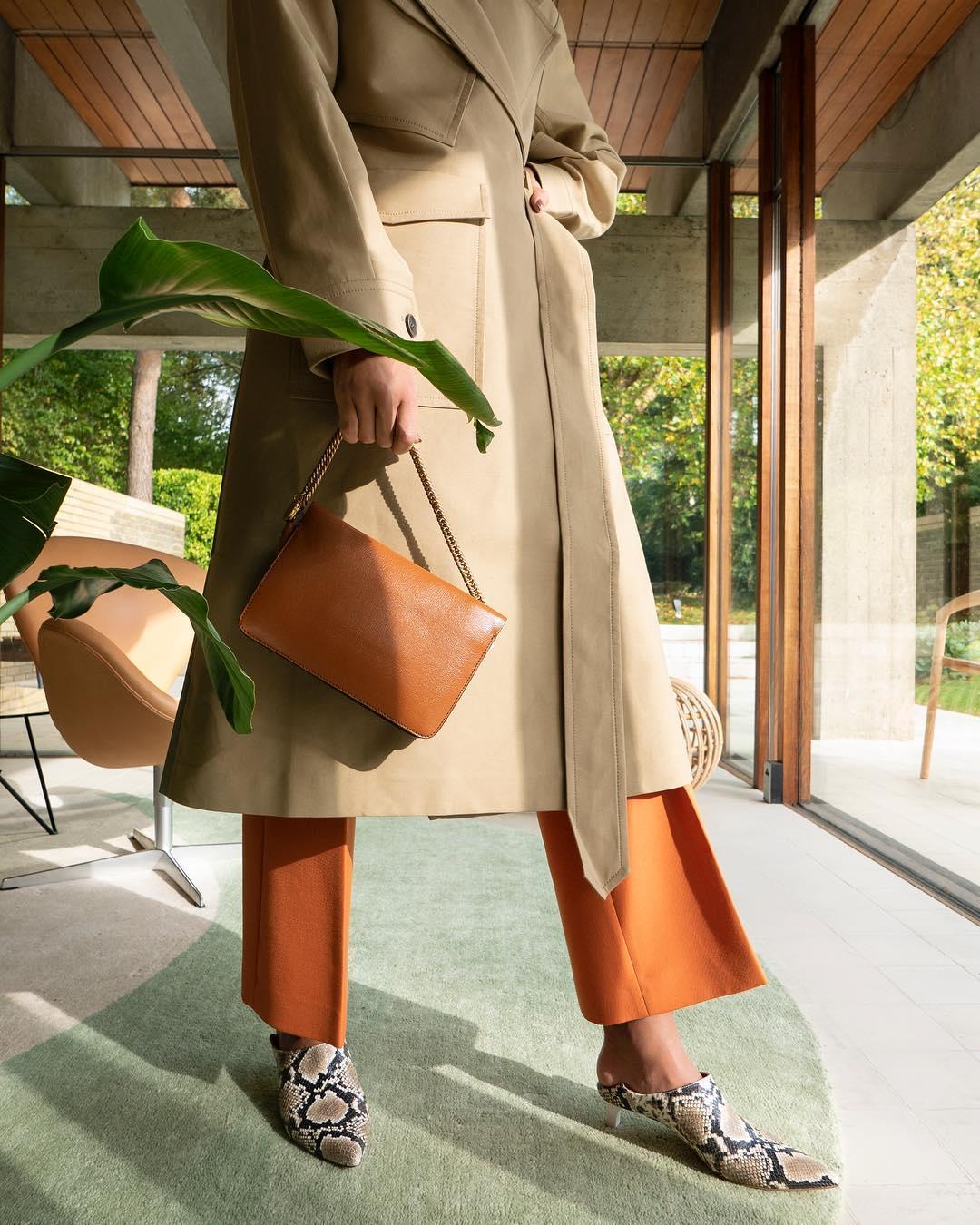 коричневая сумка фото 6