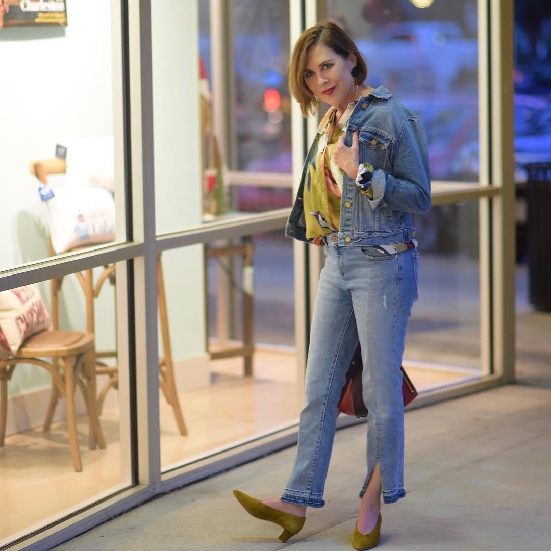 джинсовка в 40 лет фото 12
