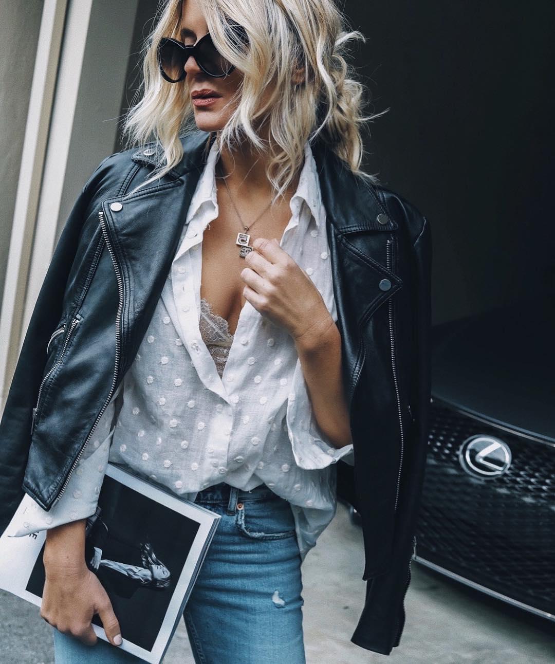 блузка в горошек фото 4