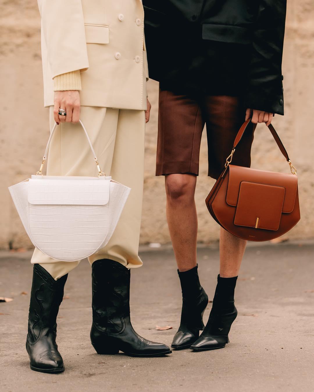 коричневая сумка фото 10