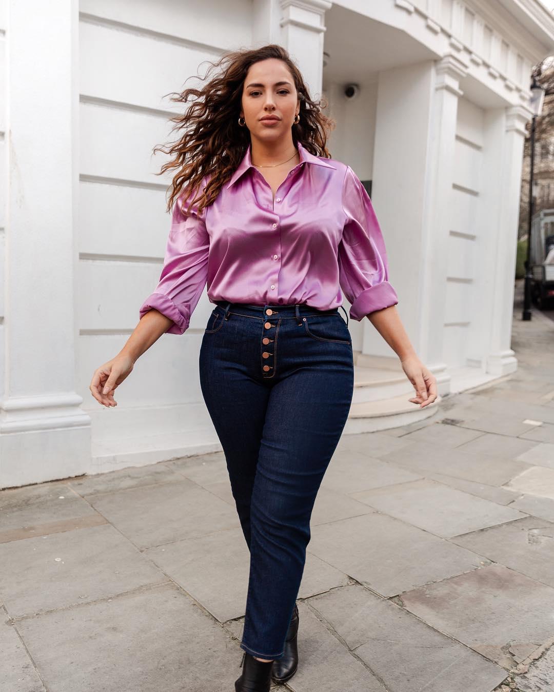 блузки для полных фото 12