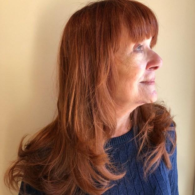 стрижки для пожилых женщин фото 10