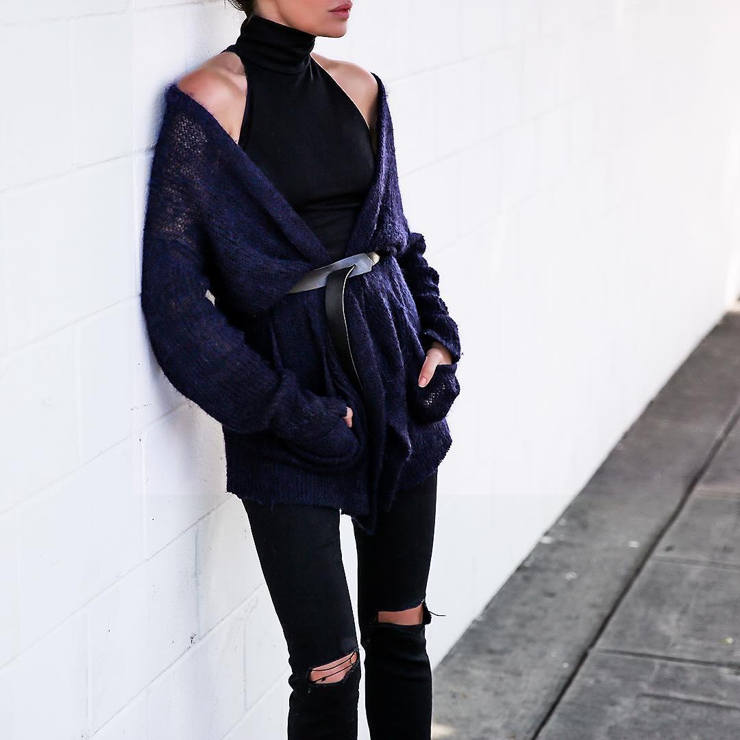 вещи, которые модно носить с ремнем фото 9