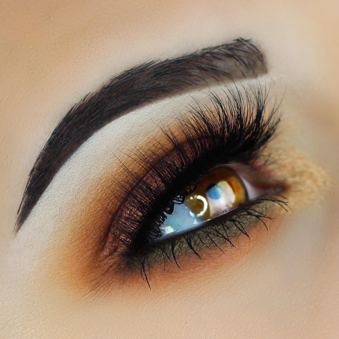 макияж глаз для рыжих фото 8