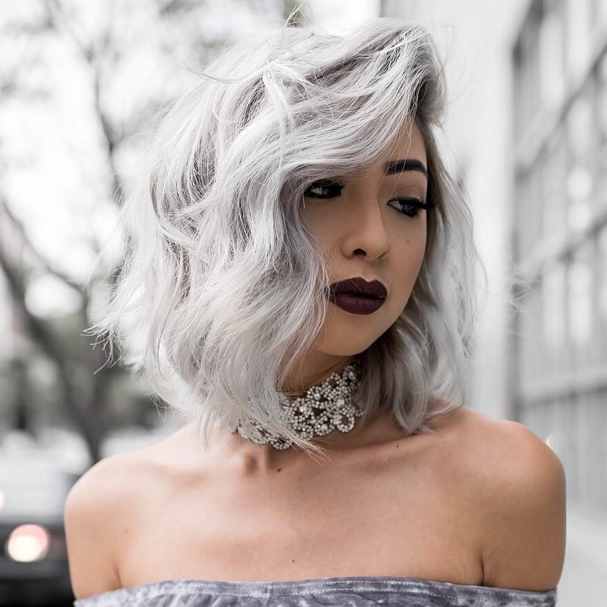 челка на средние волосы фото 7