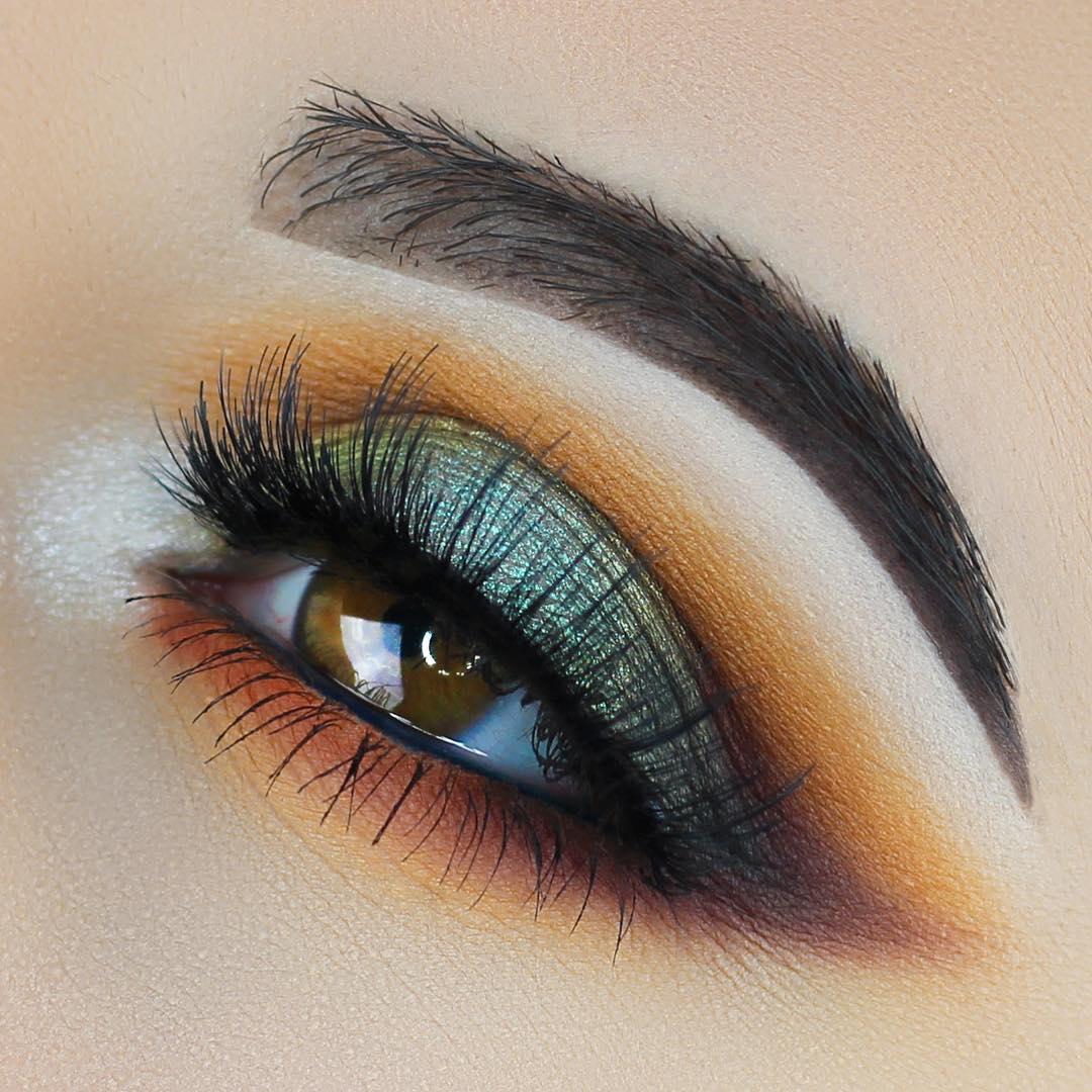 макияж глаз для рыжих фото 9