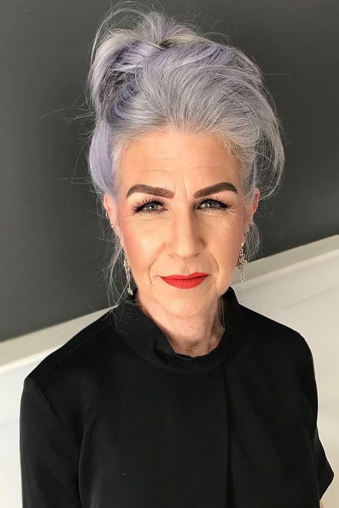 причёски для женщин старше 60 лет фото 15