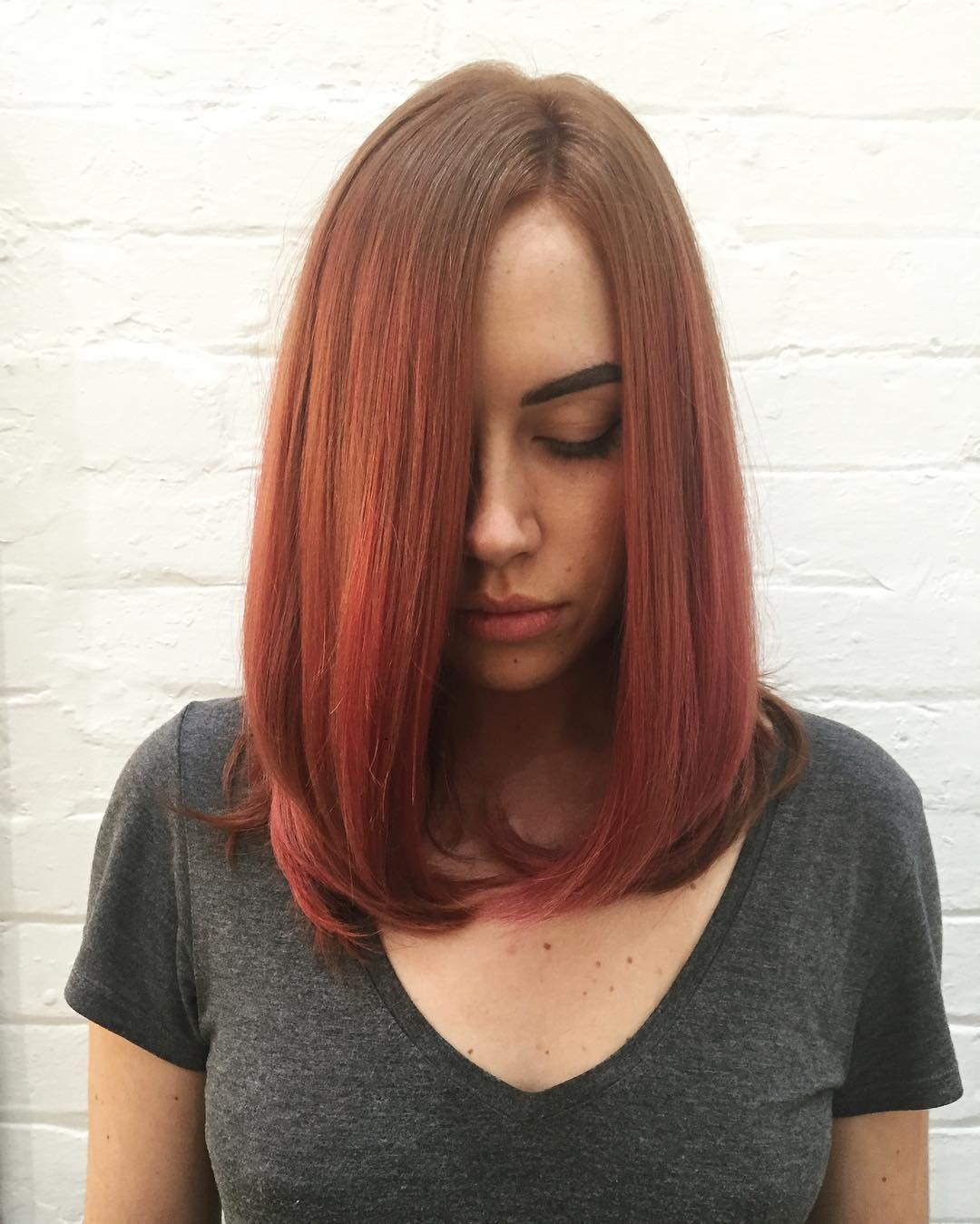 короткие стрижки для рыжих волос фото 2