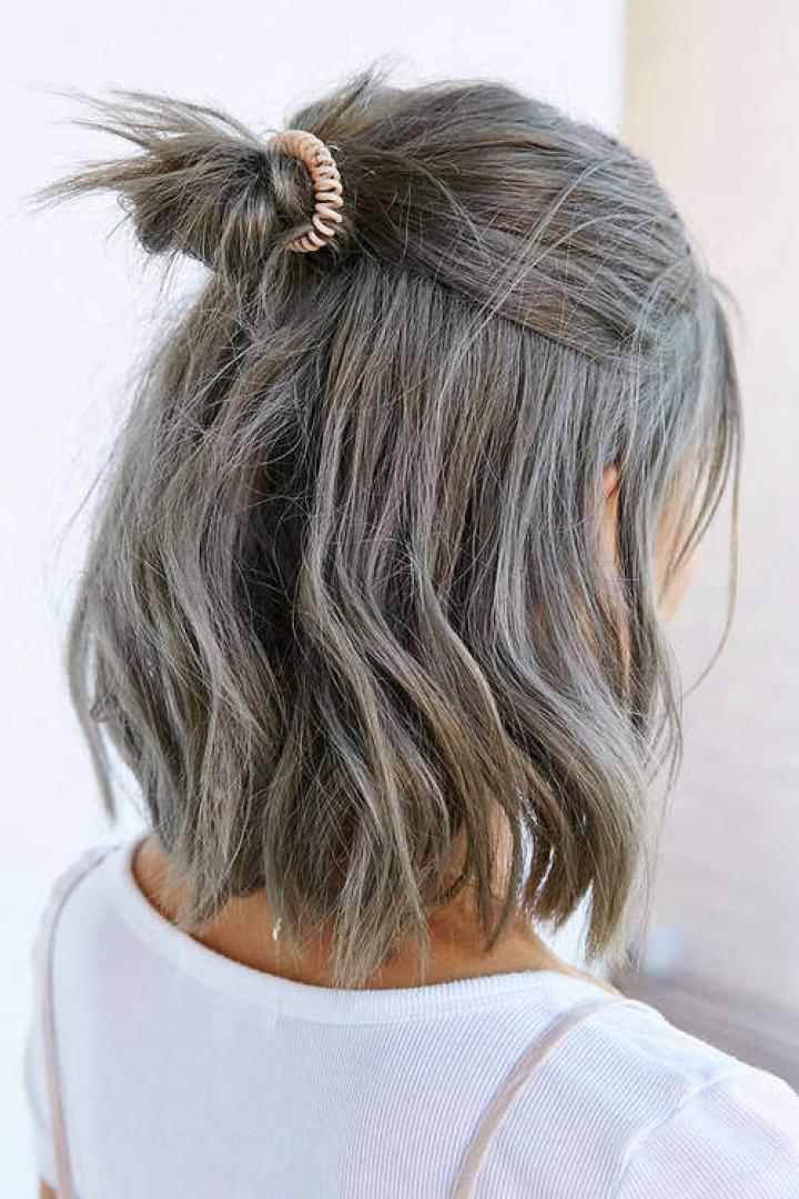 пепельно-каштановые оттенки волос фото 1