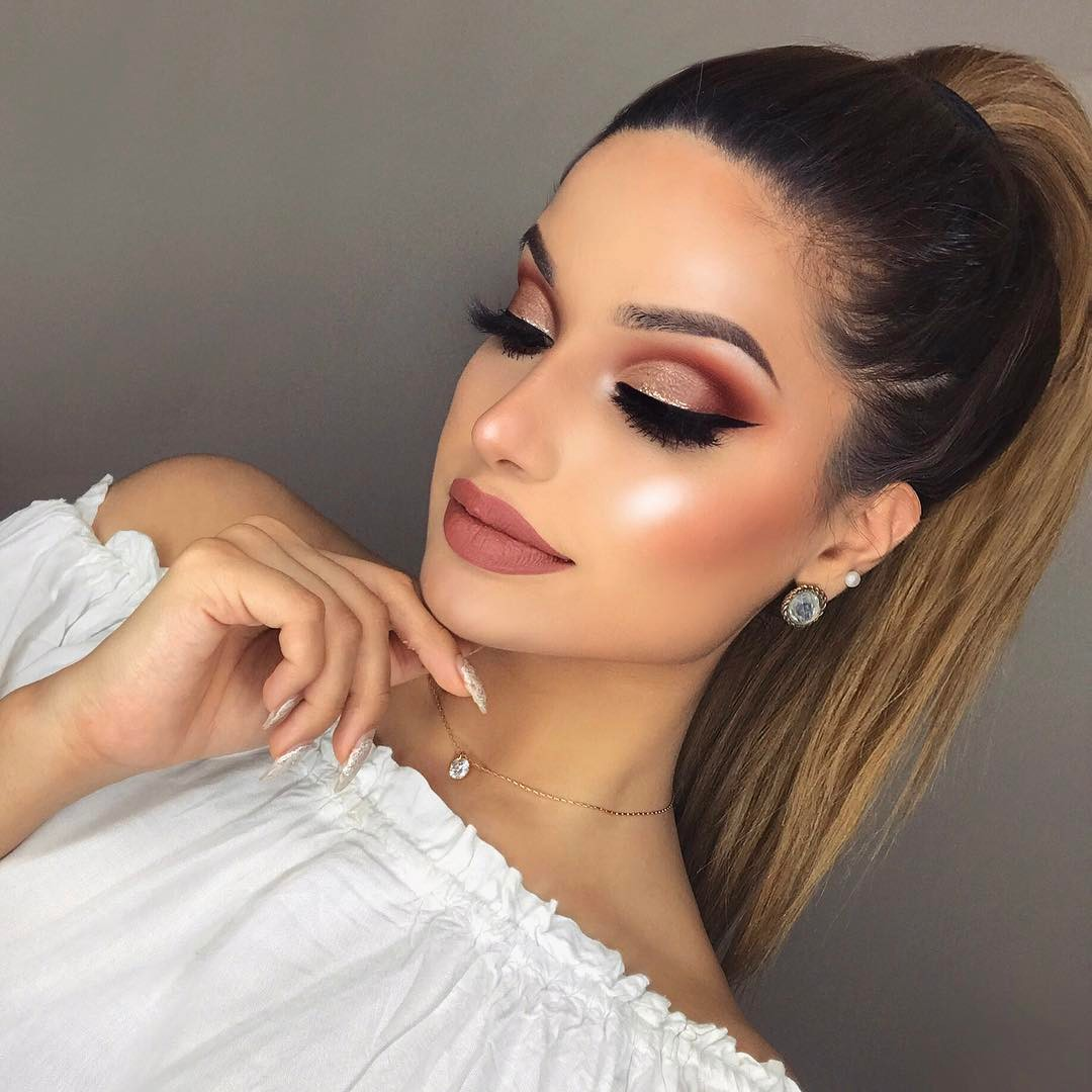 красивые идеи макияжа 2019 фото 18