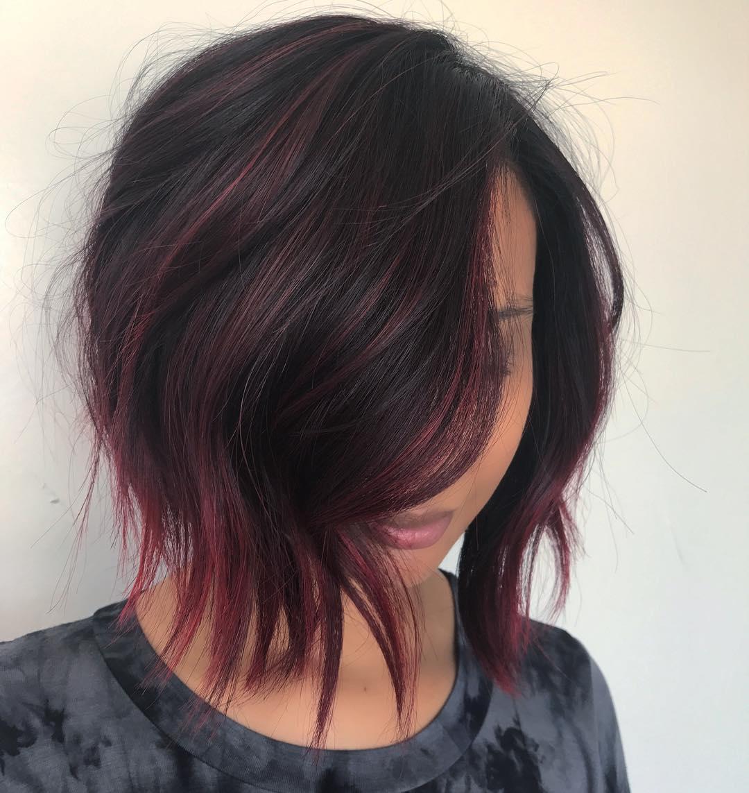 короткие стрижки для рыжих волос фото 23