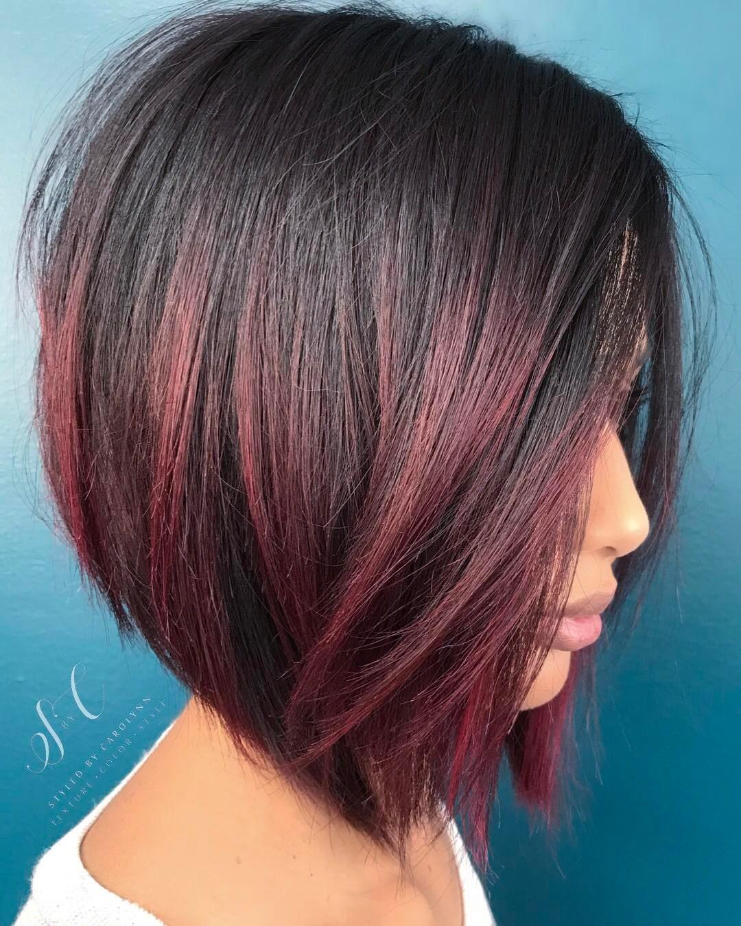 короткие стрижки для рыжих волос фото 1