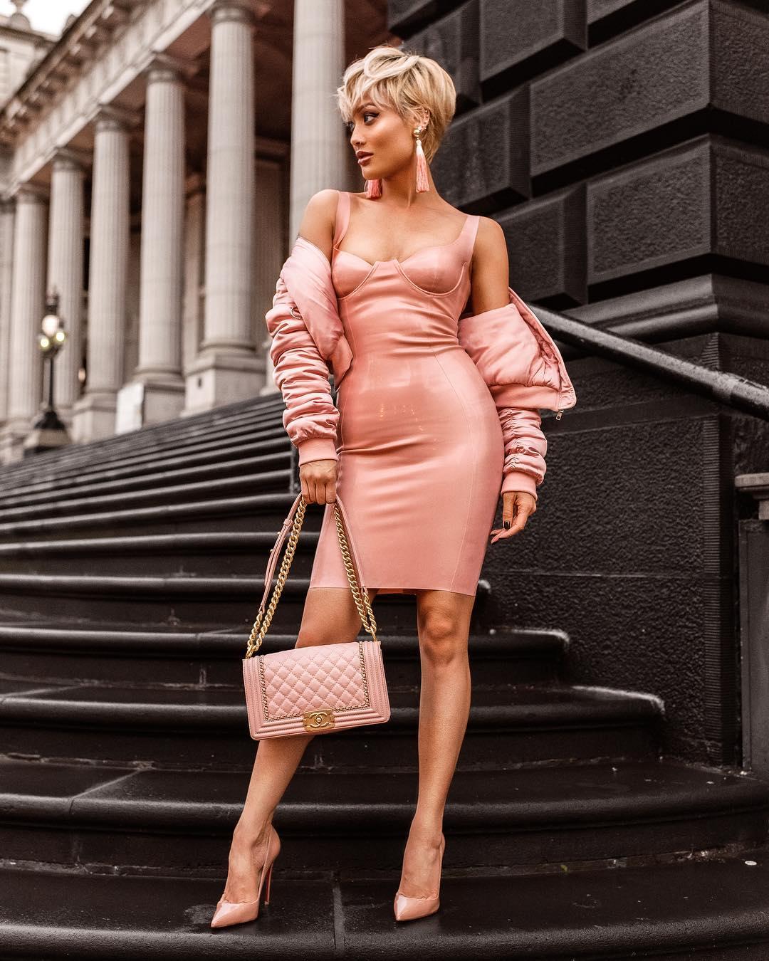 Розовые туфли фото 1