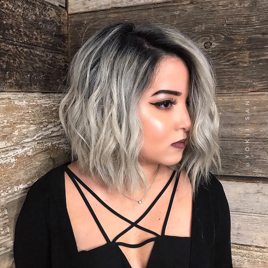 короткие стрижки для пепельных волос фото 4