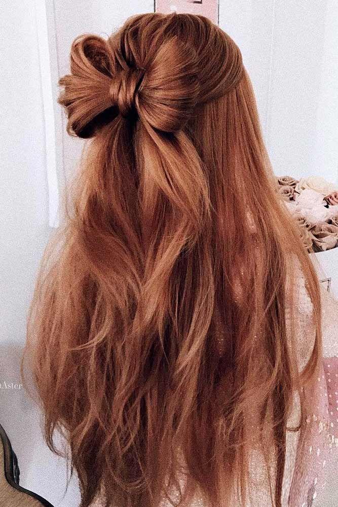 длинные волосы с косой челкой фото 8