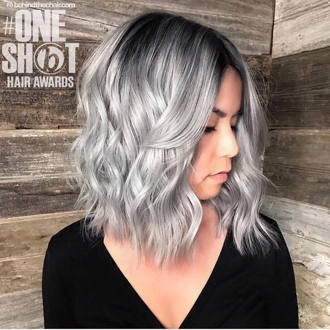 короткие стрижки для пепельных волос фото 6