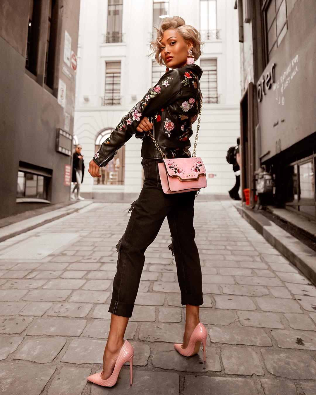Розовые туфли фото 2