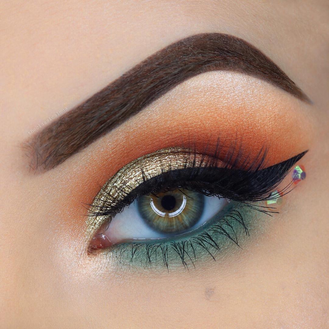 макияж глаз для рыжих фото 15