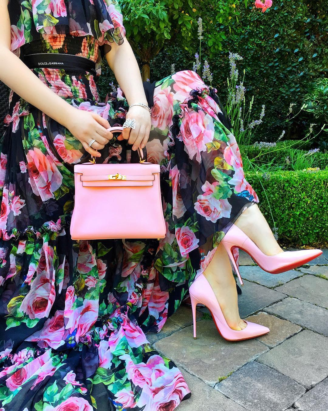 Розовые туфли фото 4