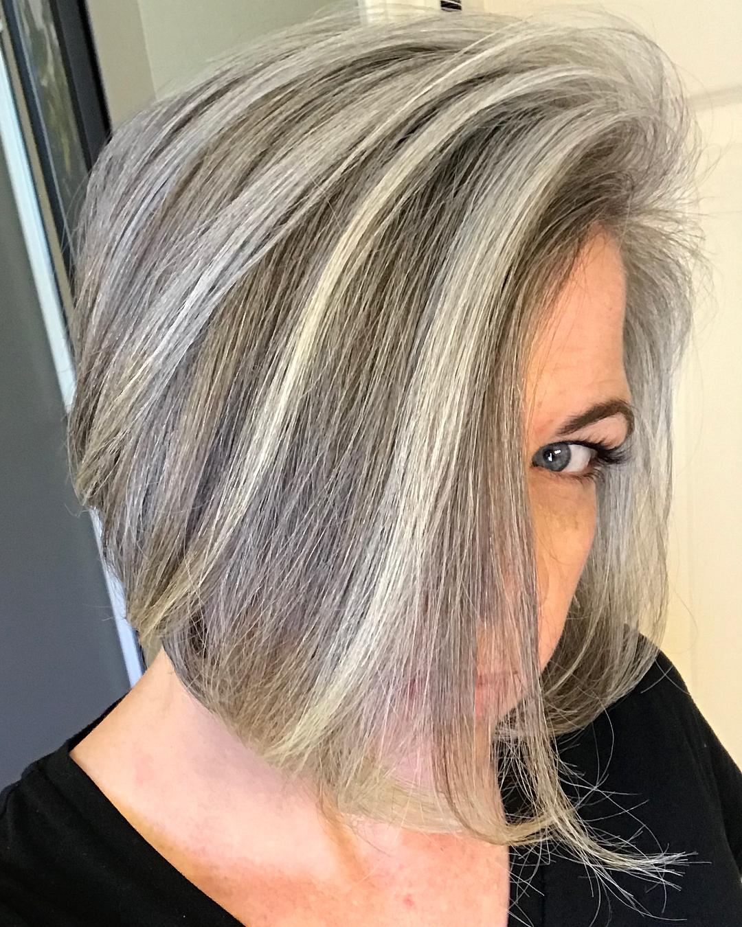 Причёски для женщин старше 60 лет фото 5