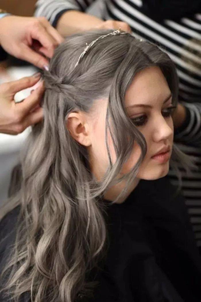 пепельно-каштановые оттенки волос фото 14