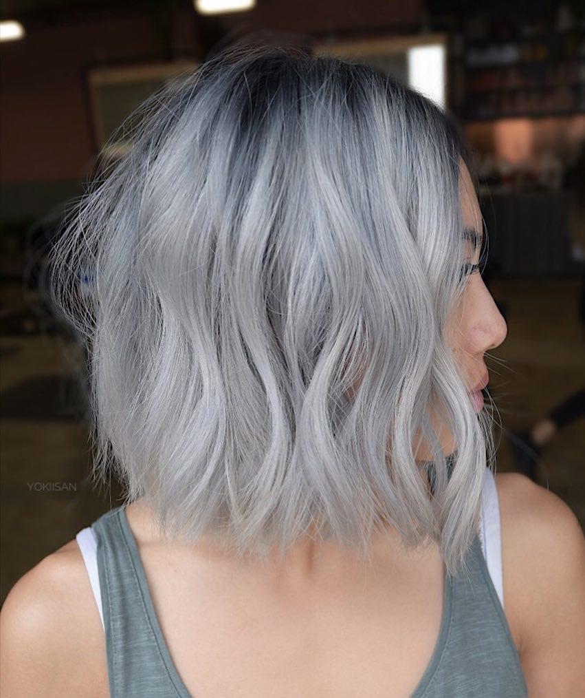 короткие стрижки для пепельных волос фото 1