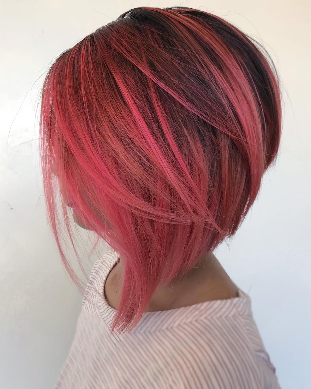 короткие стрижки для густых и прямых волос фото 12