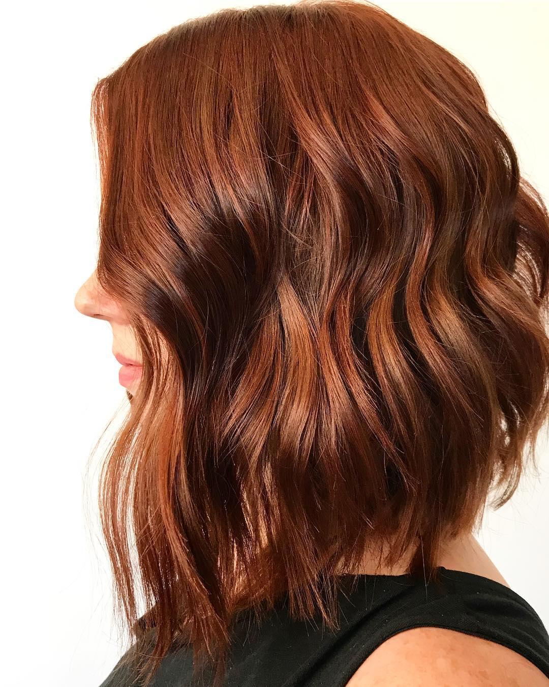 короткие стрижки для рыжих волос фото 3