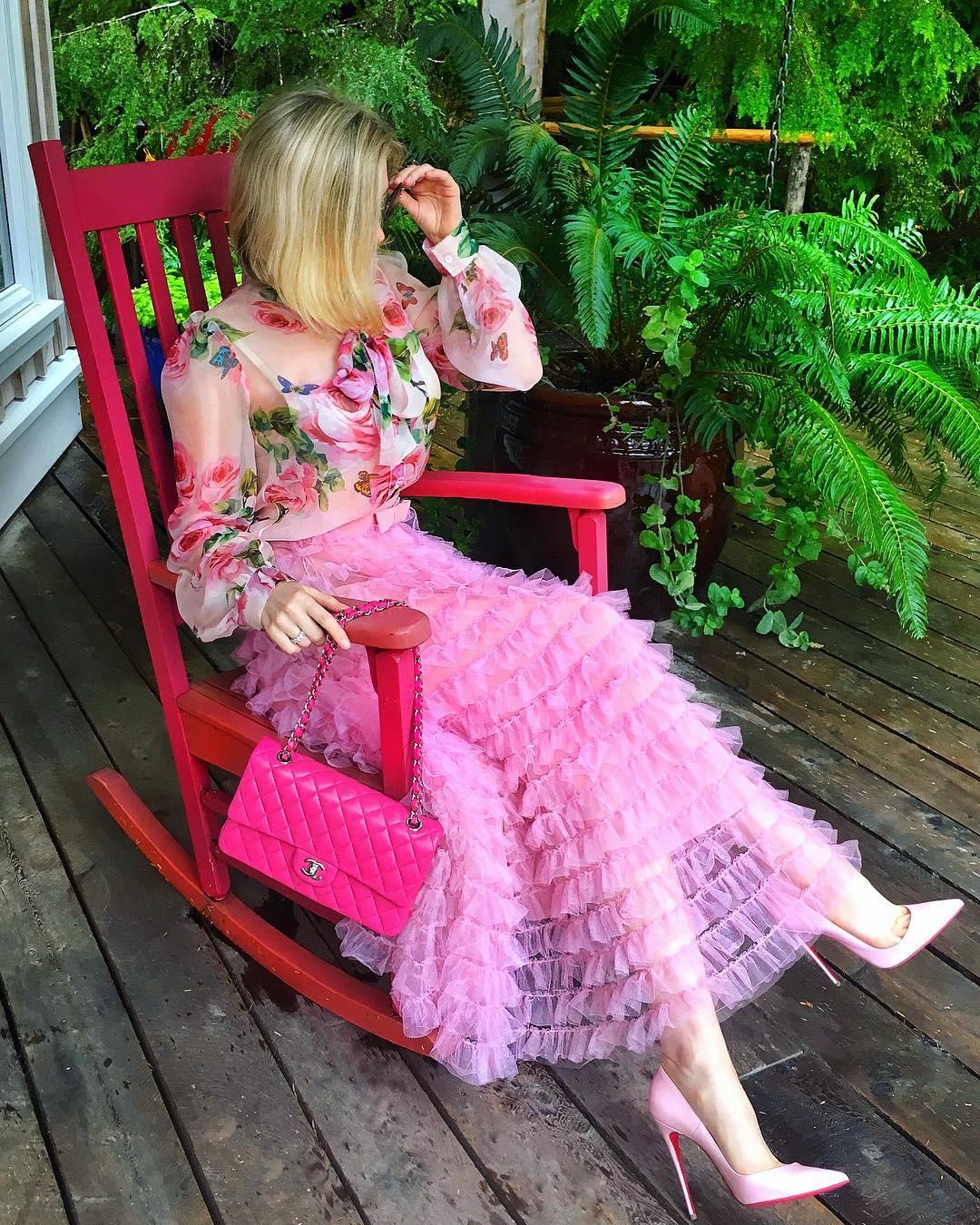 Розовые туфли фото 5