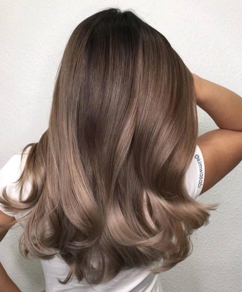 пепельно-каштановые оттенки волос фото 13